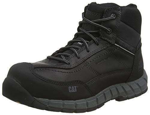 Cat Footwear Streamline, Botas de construcción Hombre, Negro, 45 EU
