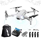 SLCE GPS Drone con Camara 4K HD Drone con Camaras Profesional 120° De Ángulo Amplio, 5G WiFi 3Km Video En Vivo Drone Plegable, RC Quadcopter Giroscopio De 4 Ejes, para Los Principiantes