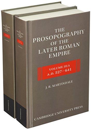 The Prosopography of the Later Roman Empire 2 Part Hardback Set