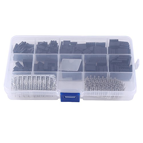 610pcs 2.54 mm Dupont Cables Kit Cubierta Cable Pin