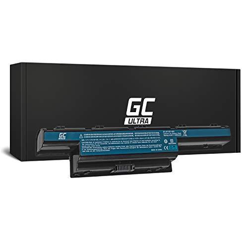 Green Cell® Ultra Série Batterie pour Acer Aspire 5551 5552 5733 5741 5741G 5742 5742G 5742Z 5749 5749Z 5750 5750G 5755G Ordinateur PC Portable (Les Cellules Originales Panasonic, 7800mAh, Noir)