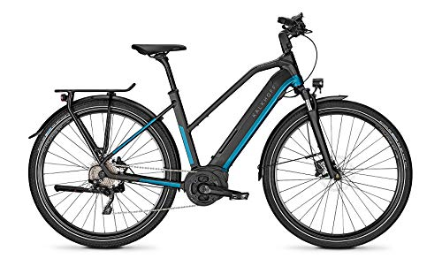 "Kalkhoff Endeavour 5.B XXL Bosch Elektro Fahrrad 2020 (28"" Damen Trapez M/48cm, Naviblue/Magicblack Matt)"