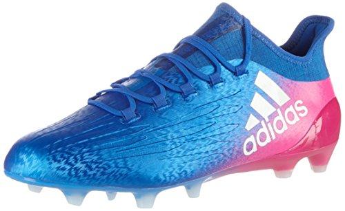 Adidas X 16.1 Fg, Herren Fußballschuhe, Blau (Blu Azul/ftwbla/rosimp), 44 2/3 EU
