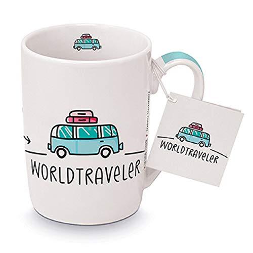 Taza de café, taza de café, taza de té, asa, camping, autobús