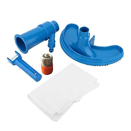 Newin Star Piscina Aspirador portátil Limpiador de la Piscina Piscina Jet Vacuum Cleaner bajo el Agua con la Hoja de la Bomba Bolsa Fit Piscinas de Tierra