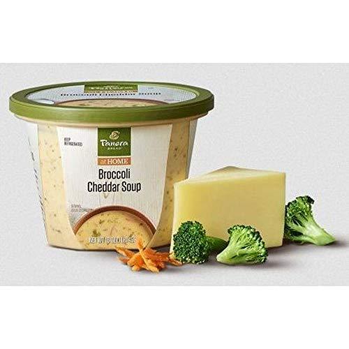 Panera Bread Broccoli Cheddar Soup, 16 Ounce -- 6 per case.