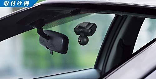 ユピテル全方位ドライブレコーダーQ-01dP前後上下左右360度+360度(720度)記録GPS衝撃センサー3年保証200万画素電源直結モデル【Amazon.co.jp限定】