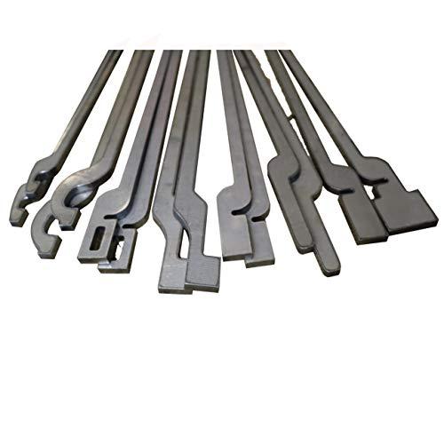Tenaglia per fabbri Set di 7 - FastTongs strumenti di forgiatura