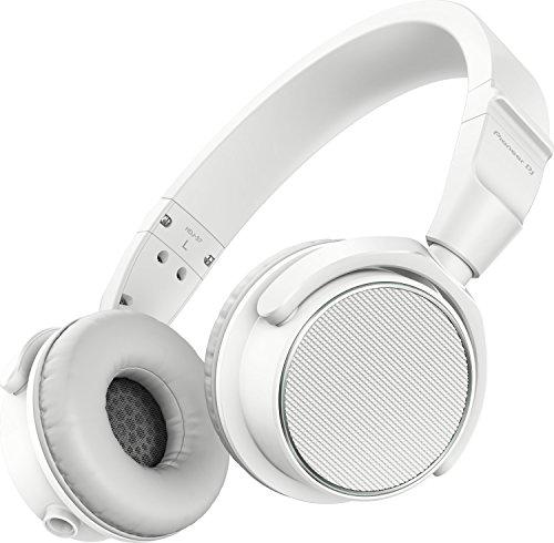 Pioneer HDJ-S7-W - Professioneller geschlossener dynamischer On-Ear-Kopfhörer für DJ und Studio, Weiß
