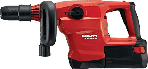 Hilti 2237133 Cordless Breaker TE 500-A36   SDS Max (TE-Y) Demolition Hammer (Tool Only)