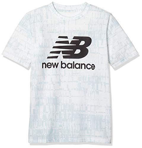 ニューバランス ジュニアスポーツウェア Tシャツ グラフィックTシャツ JJTP9227WT ボーイズ ホワイト