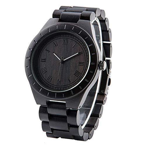 Holzuhren für Männer Armbanduhr Herrenuhr mit Gravur Männergeschenke Geschenke zum Jahrestag Geschenk für Freund Ehemann