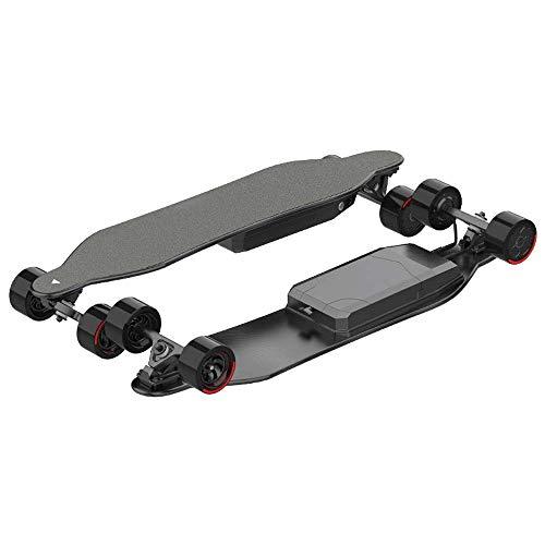 JIEJIE Double Drive 38-Zoll-Vierrad-Fernbedienung elektrisches Skateboard Erwachsener Reise Skateboard, Skateboard QIANGQIANG (Size : S)