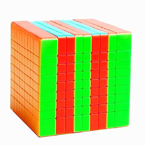 BestCube 9x9 Cube Stickerless Classroom MF9 Meilong 9x9x9 Speed Cube Puzzle Gifts Toys(75mm)