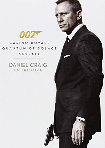 James Bond 007 - Daniel Craig : La Trilogie : Casino Royale + Quantum of Solace + Skyfall [Francia] [DVD]