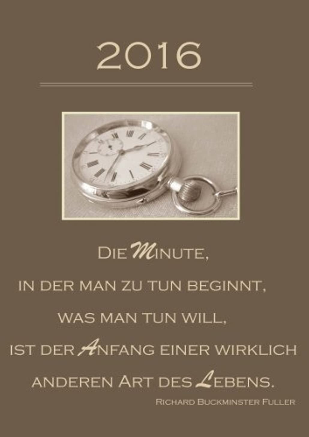 セラフ処分した週間dicker TageBuch Kalender 2016