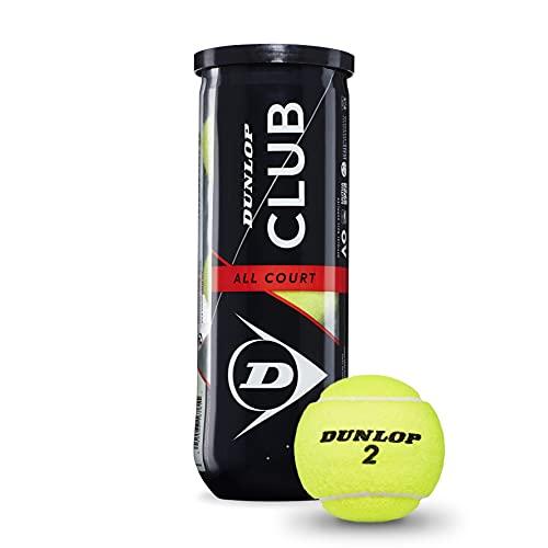 DUNLOP 601334 Tennisballen Club All Court – 3 ball pet