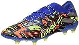 adidas Nemeziz Messi 19.1 FG, Zapatillas de fútbol Hombre, AZUREA/Plamet/Amasol, 41 1/3 EU
