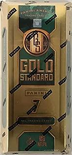 Sports Memorabilia 2019 Panini Gold Standard Football Factory Sealed Hobby Box - Football Wax Packs
