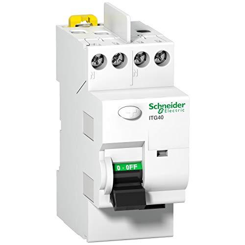 SCHNEIDER - Interrupteur Différentiel ITG40 Prodis - SCH-INTERDIFITG40 - asi, mono-230v, 40a, 30ma