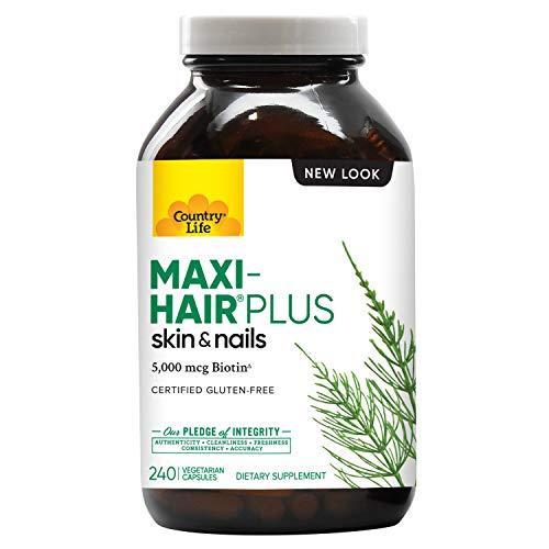 Country Life Maxi-Hair Plus 240 Veg…
