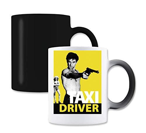 Taxi Driver De NIRO Gun magische kleur de thee-koffiemok verandert