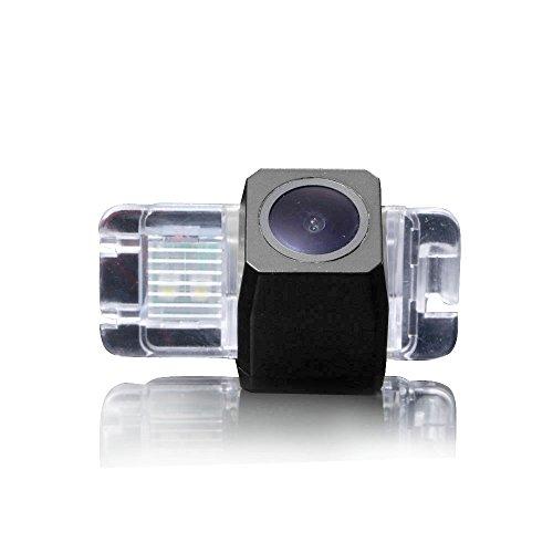HD CCD R/ückfahrkamera Farbkamera Einparkkamera Nachtsicht und R/ückfahrsystem Einparkhilfe-Wasserdicht/&Sto/ßfest f/ür SsangYong Korando//Kyron 2011 Rexton II 2011//Rodius//Stavic
