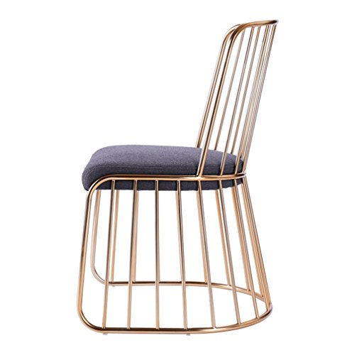 GHM Bar Chaises Creative Bar Chaise Fer Art Bar Tabouret Canapé Bas Tabouret Ménage Chaise Chaise Café Chaise Longue Chaise Haute (Taille : A)