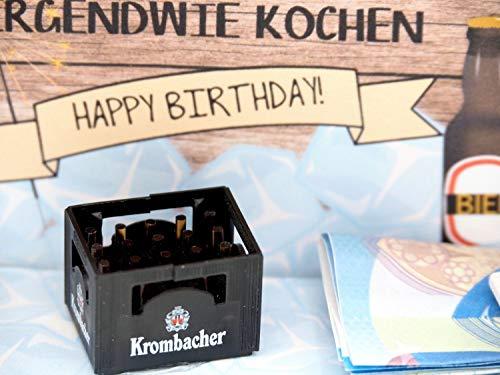ZauberDeko Geldgeschenk Verpackung Bier Happy Birthday Geschenk Männer Geschenkidee Geburtstagsgeschenk - 5