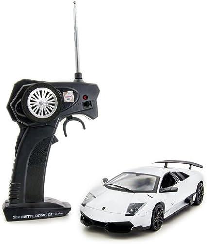 Lamborghini Murcielago RC metal drive (Super Weiß) (RC Model) (japan import)