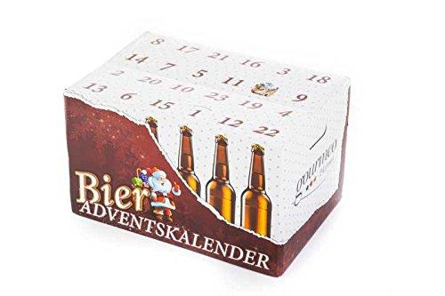 Bieradventskalender leer, zum selbst Befüllen