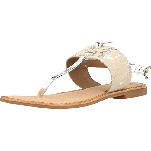 Sandalias y chanclas para mujer, color Plateado , marca GIOSEPPO, modelo Sandalias...
