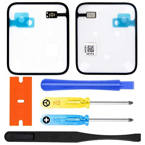 MMOBIEL Kit de Reparación Sensor de Fuerza táctil, Adhesivo, Compatible con Apple Watch Series 3 42mm GPS Edition