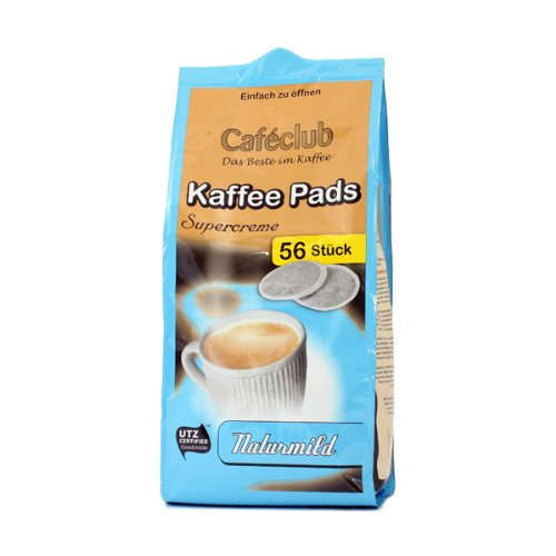 Cafeclub Supercreme VorteilPads Mild KaffeePads 10x56 Stuck
