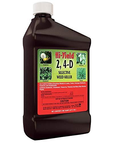 Product Image of the V.P.G. FH21415 Quart ~ Hi-Yield 2,4-D Selective Weed Killer ~ Quart