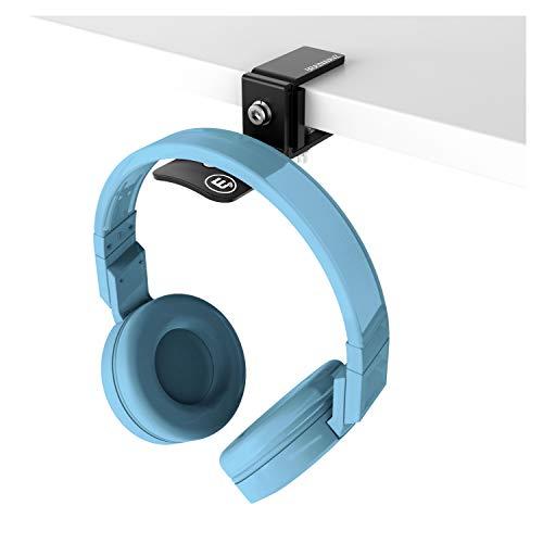 Brainwavz Hengja - The Desk Headphone Stand Hanger Mount, All Metal, Rotatable Mount, PC & Gaming Headset Holder