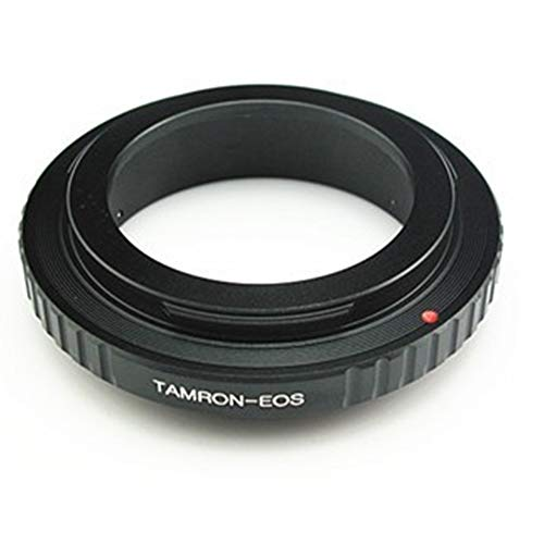 Adaptador FD a EOS, Compatible con Objetivos Canon FD y cámaras Canon EOS (EF, EF-S) 7D 550D 500D 1000D, etc.