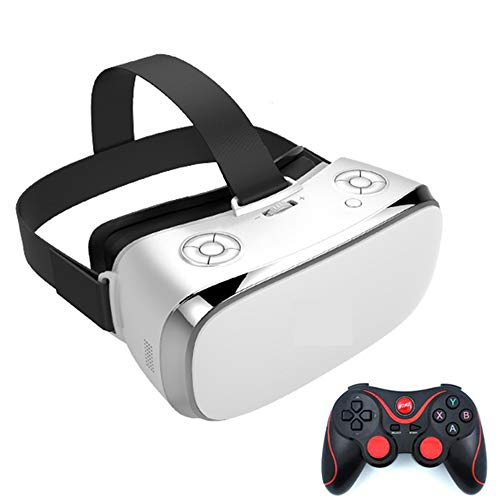 HM2 VR Virtual Reality Brille IMAX 3D Brille WiFi VR All-in-One Brille Quad Core 3G Ram 16G Rom VR Brille 5,5 Zoll 2K Display,White