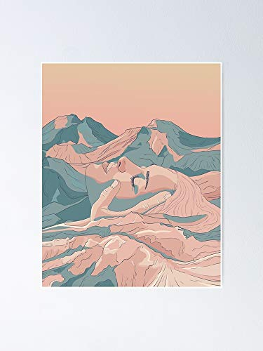 AZSTEEL Póster de I Saw Her Face In The Mountains