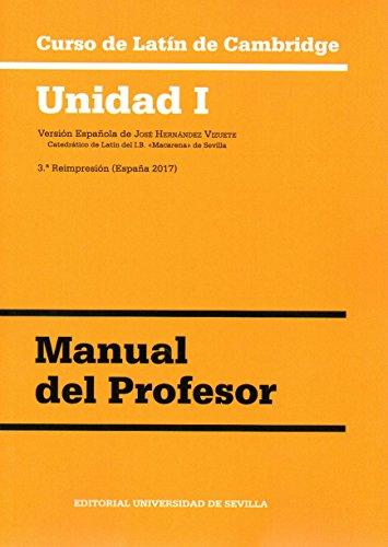 Curso de Latín de Cambridge. Unidad I. Manual del profesor 8·ª ed. - 2017)