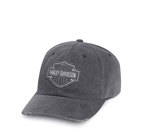 HARLEY-DAVIDSON Frayed Tonal Logo Cap Schirmmütze, 99414-16VM
