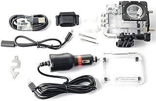 【LifePower】SJCAM SJ5000シリーズスポーツアクションカメラアクセサリーキット バイク用防水ケース + 充電器 SJ5000 SJ5000WiFi SJ5000Plus SJ5000X対応 LP-SJPTS5K