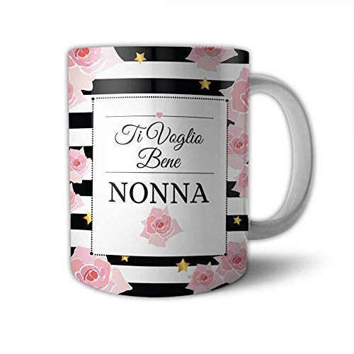 Babloo Tazza Mug Idea Regalo Festa dei Nonni Ti Voglio Bene Nonna
