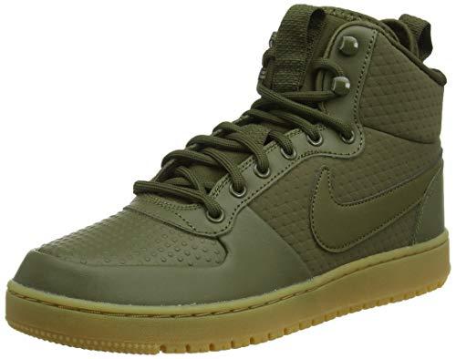Nike Ebernon Mid Winter, Zapatos de Baloncesto para Hombre, Verde (Olive Canvas/Olive Canvas 300), 41 EU
