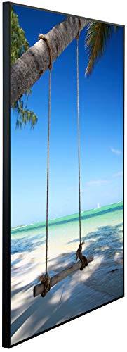InfrarotPro Infrarotheizung, Schaukel an der Palme, 120x75x3 cm