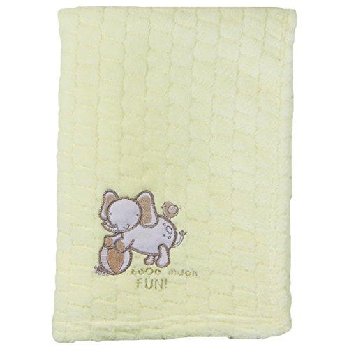Snuggle Baby éléphant pour bébé, crème