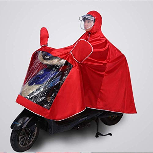 ZXL Waterdichte E-Bike poncho voor volwassenen, van Oxford-stof, geavanceerde poncho voor volwassenen, fietsen in de open lucht