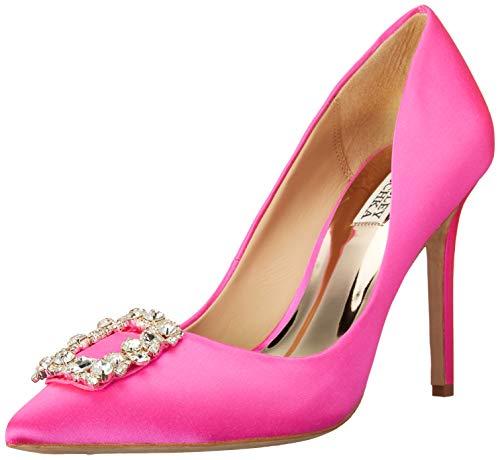 Badgley Mischka Women's Cher Pump, Hot Pink, 6 M US