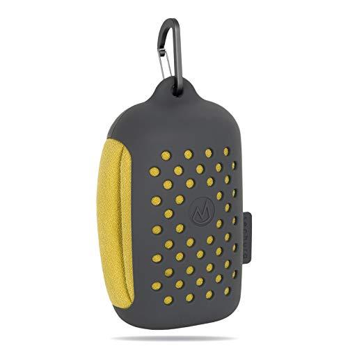 mountana® Sechura Mikrofaser Handtuch mit Tragetasche | Kleinstes Packmaß, Ultra Leicht, Schnelltrocknend | Sporthandtuch, Reisehandtuch, Badehandtuch | Ideal für Reisen, Fitness, Schwimmen