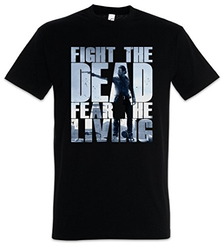 Urban Backwoods Fight The Dead Fear The Living III Camiseta De Hombre T-Shirt